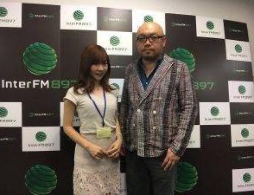 InterFM897「socialize」ラジオのゲストとして出演しました。